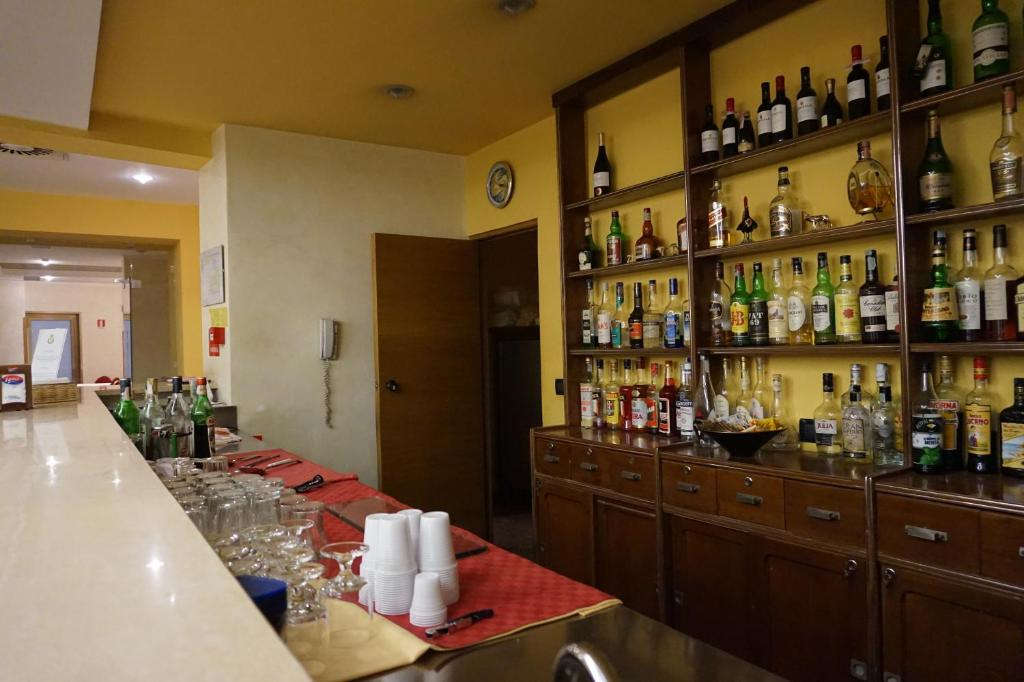 O lounge ou bar de Hotel Europa
