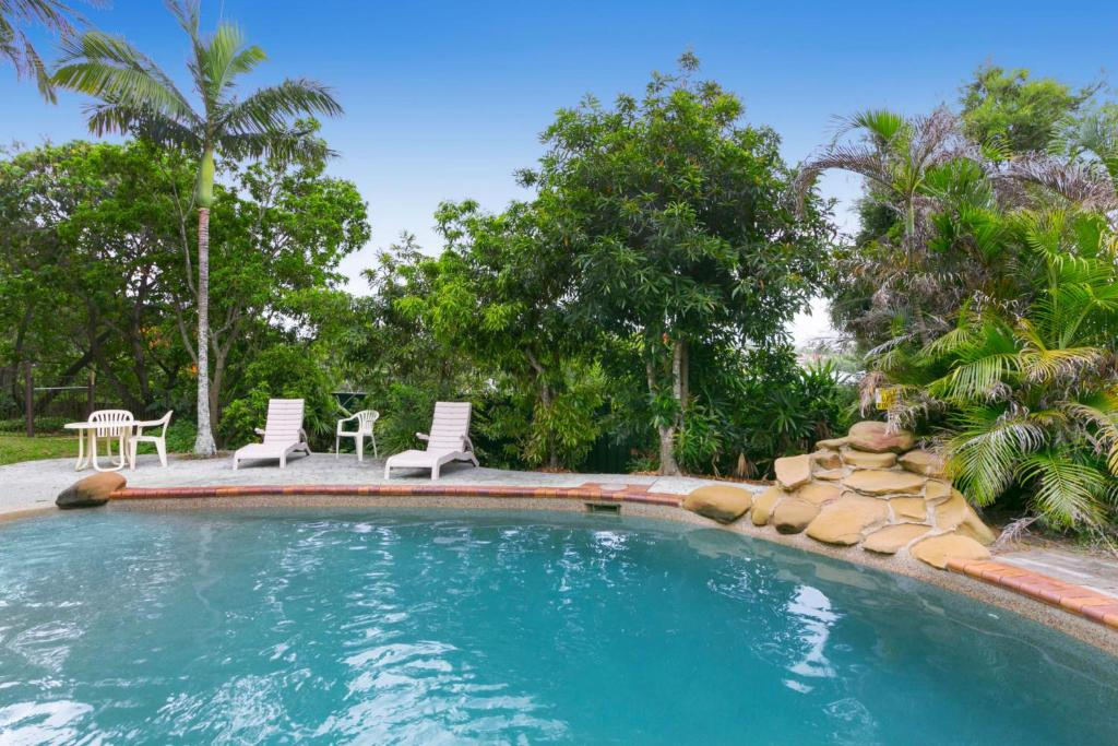 The swimming pool at or near Toowong Villas