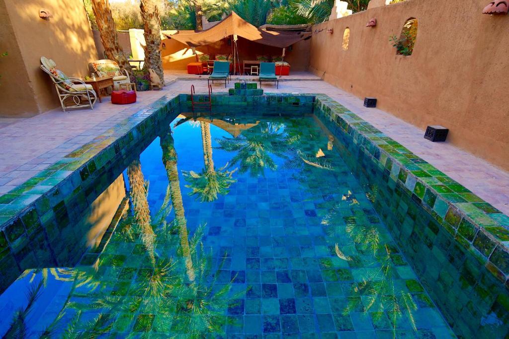 The swimming pool at or near Dar Sofar