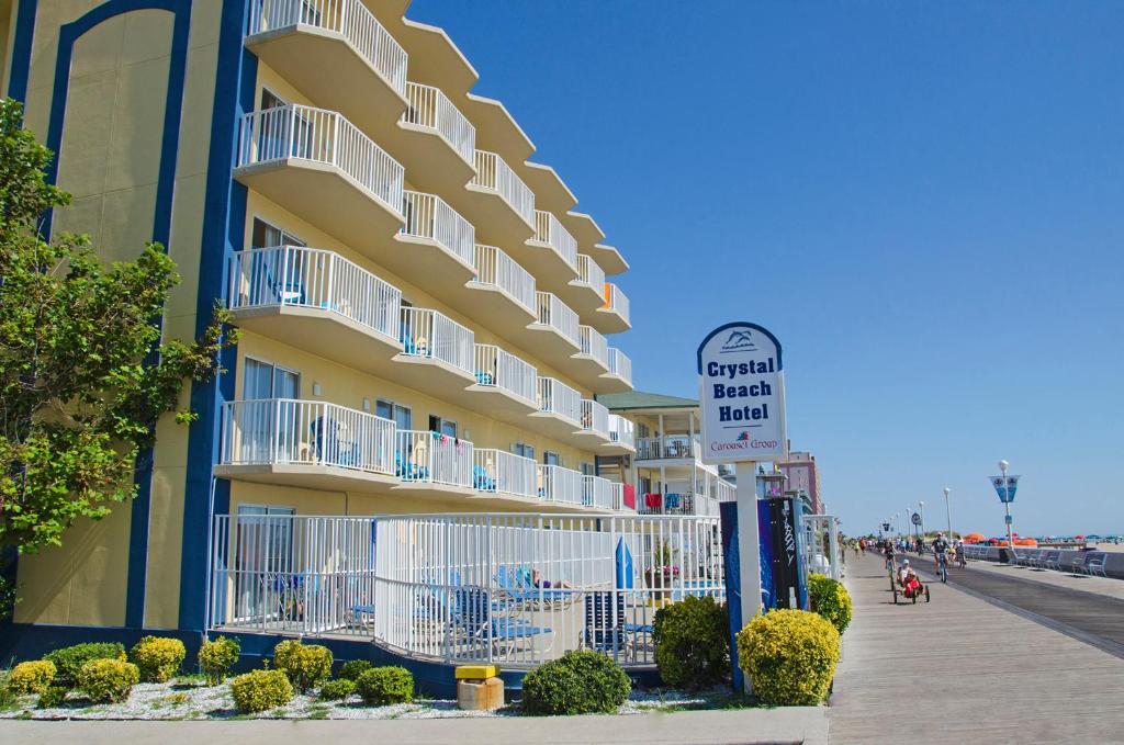 Hotels In Ocean City Md >> Crystal Beach Hotel Ocean City Md Booking Com