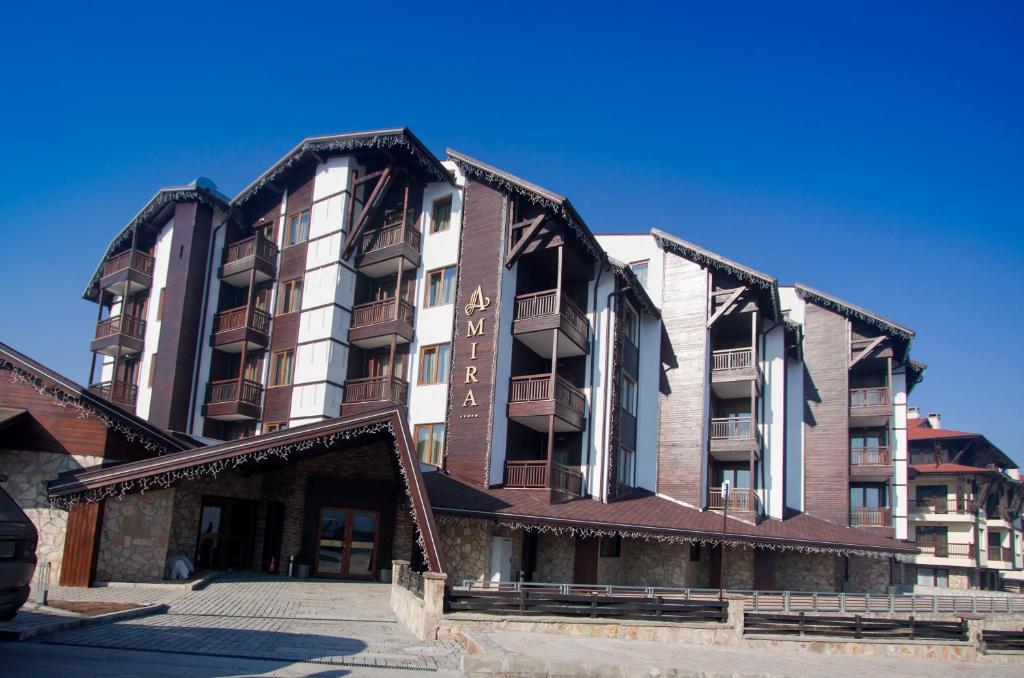 Амира Бутик Хотел през зимата