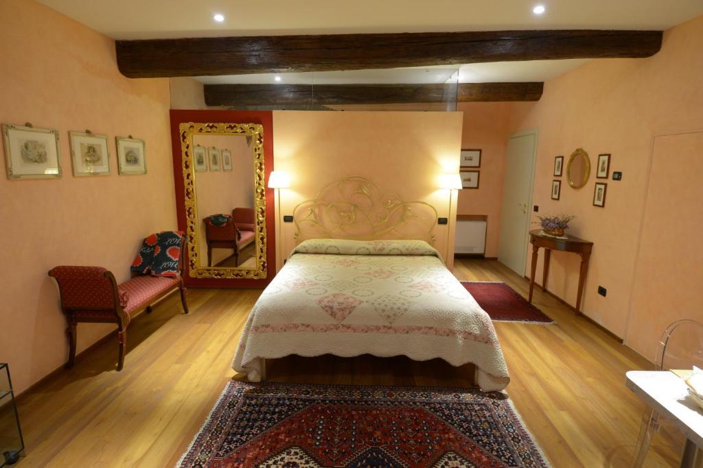 拉塞瓦塔酒店房間的床
