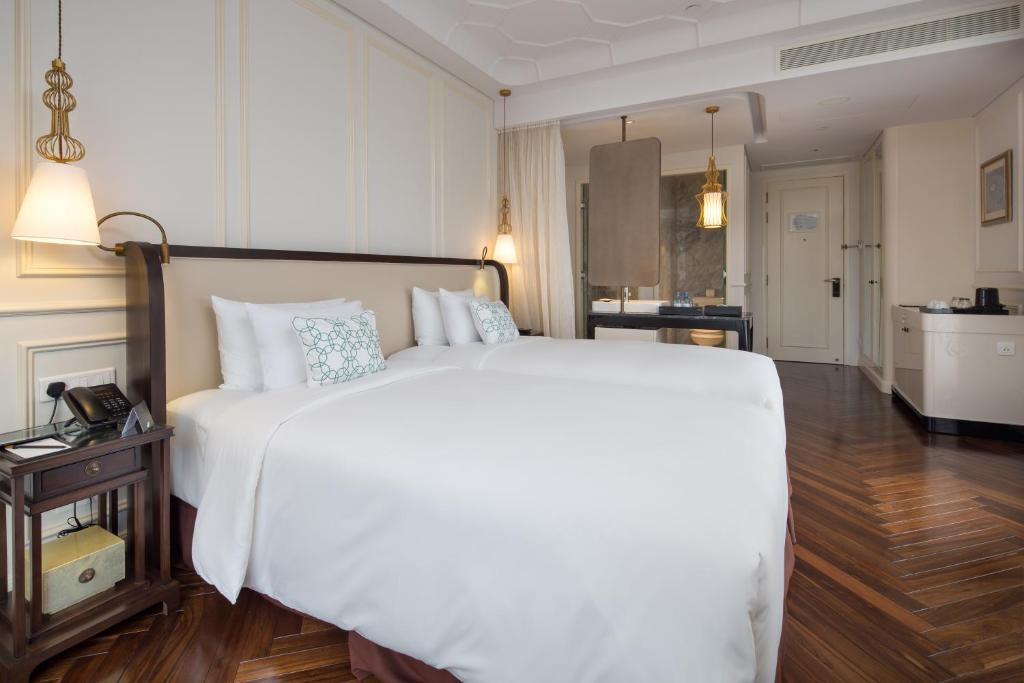 Phòng Deluxe có 2 Giường Đơn Nhìn ra Thành phố