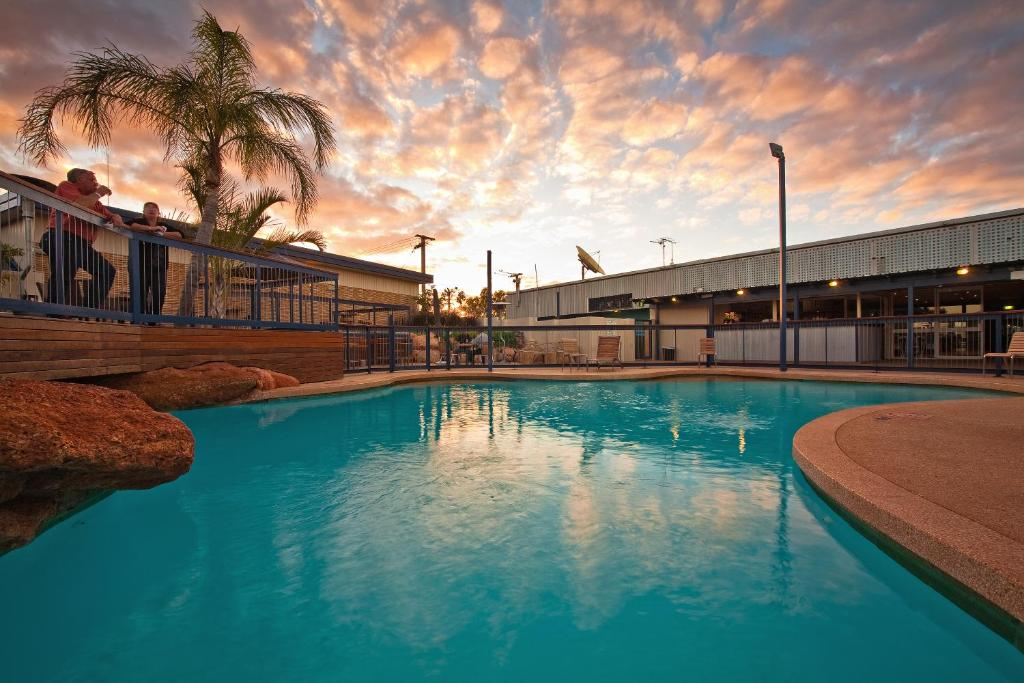 The swimming pool at or near Potshot Hotel Resort