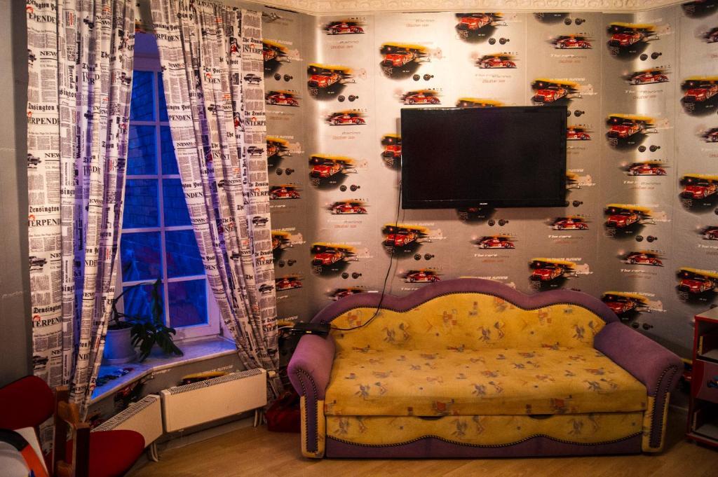 Телевизор и/или развлекательный центр в Гостевой дом Белая Невесточка