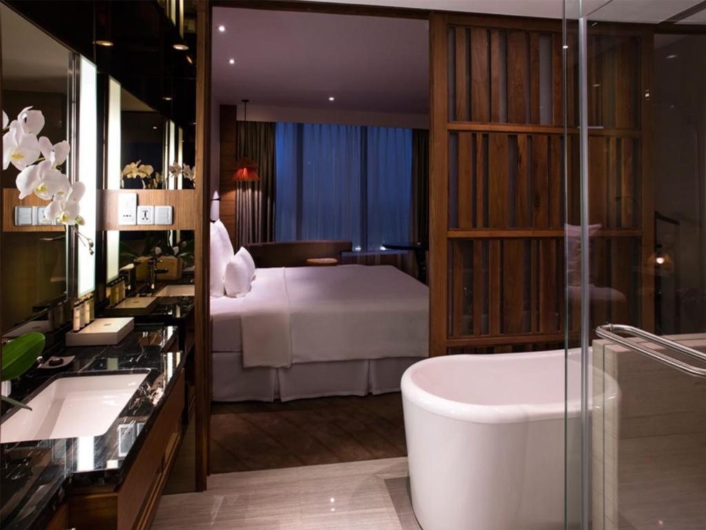 Phòng Executive, Quyền Lui Tới Lounge, 1 Giường Cỡ King