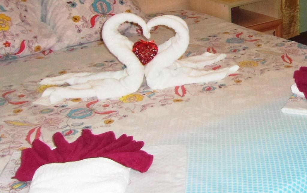 Кровать или кровати в номере Mini-Otel' Gagra