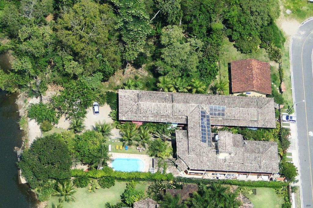 A bird's-eye view of Pousada Rumo dos Ventos