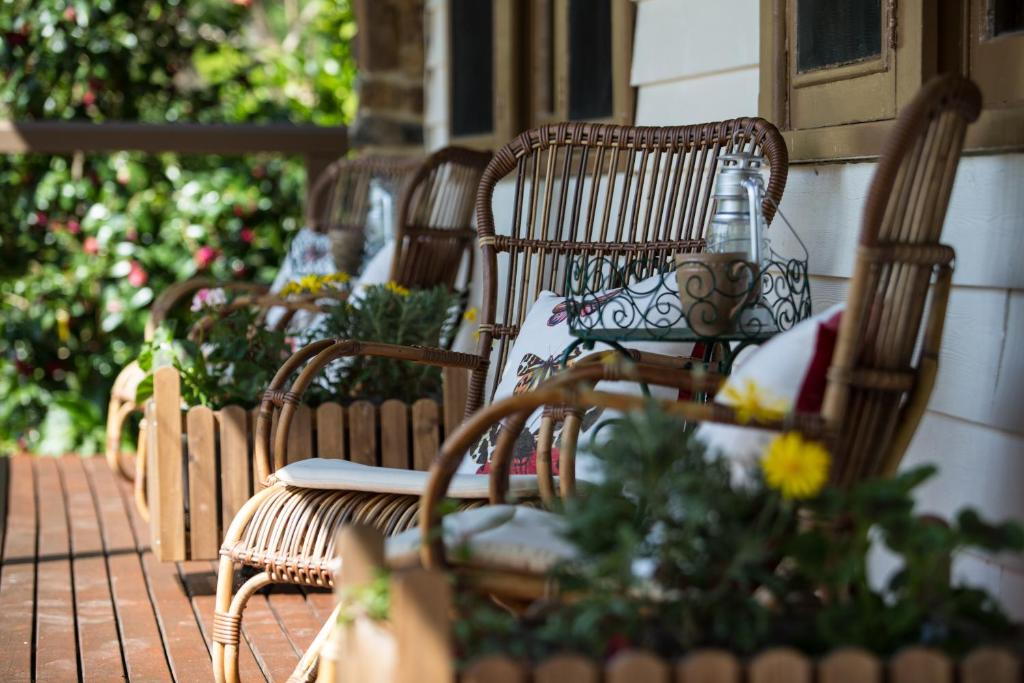 A balcony or terrace at Buttercup Hill