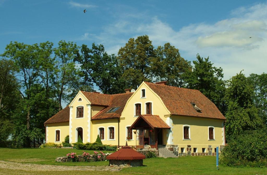 Budynek, w którym mieści się the country house