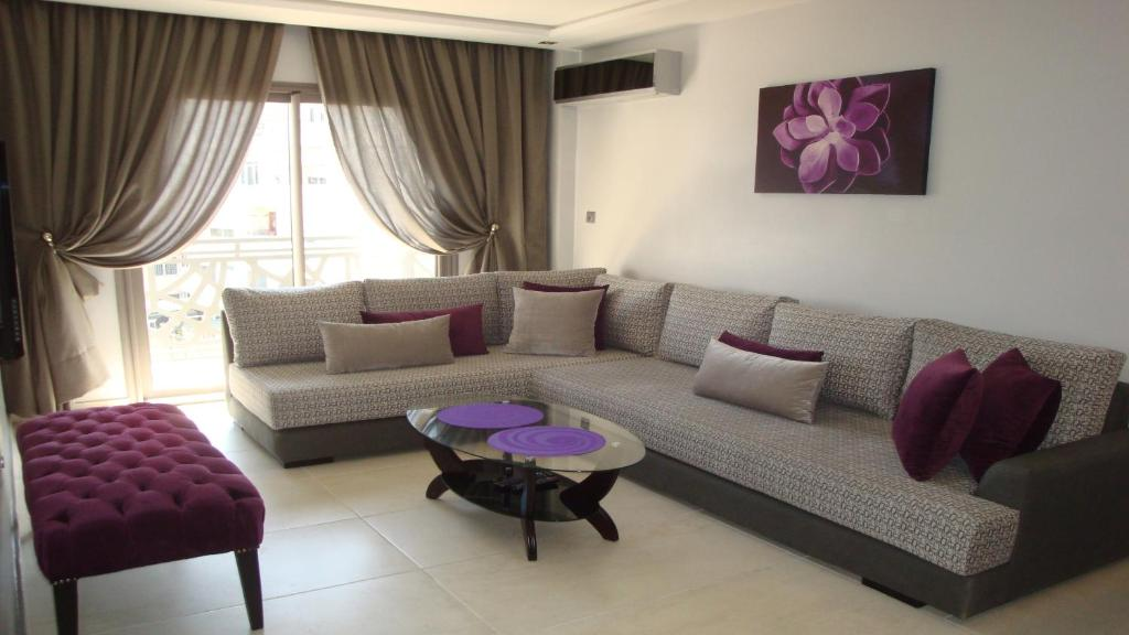 A seating area at Casa Home - City Center