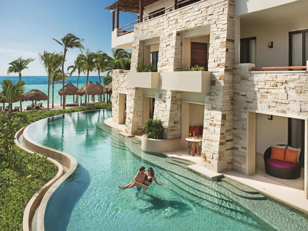 The swimming pool at or near Secrets Akumal Riviera Maya All Inclusive - Adults Only