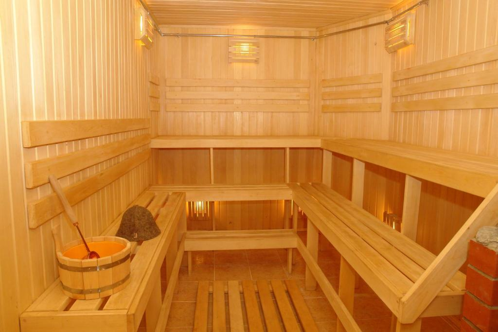 Spa and/or other wellness facilities at Hostel Vizit