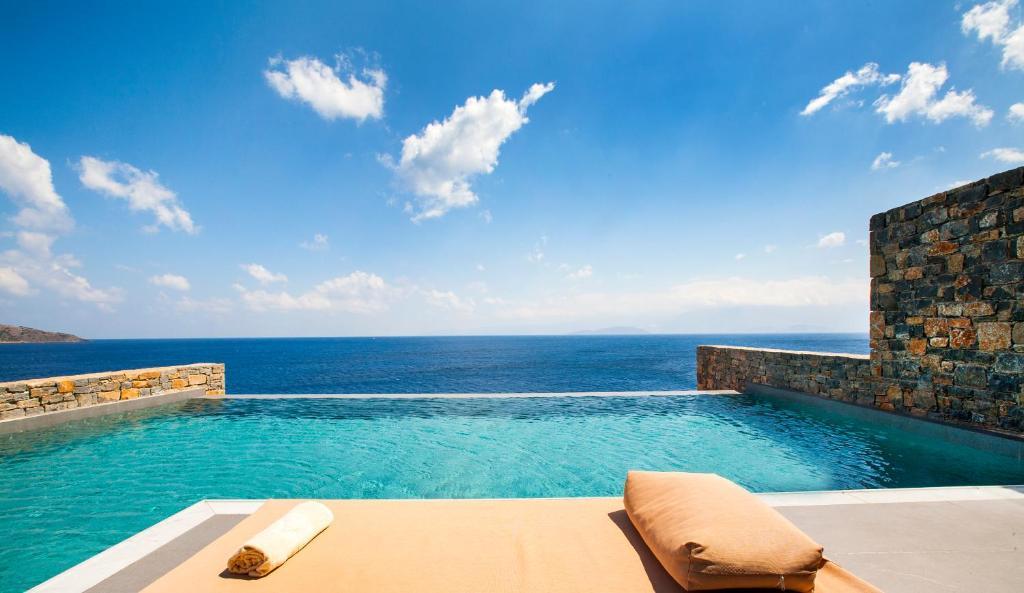 The swimming pool at or near Sensimar Elounda Village Resort & Spa by Aquila