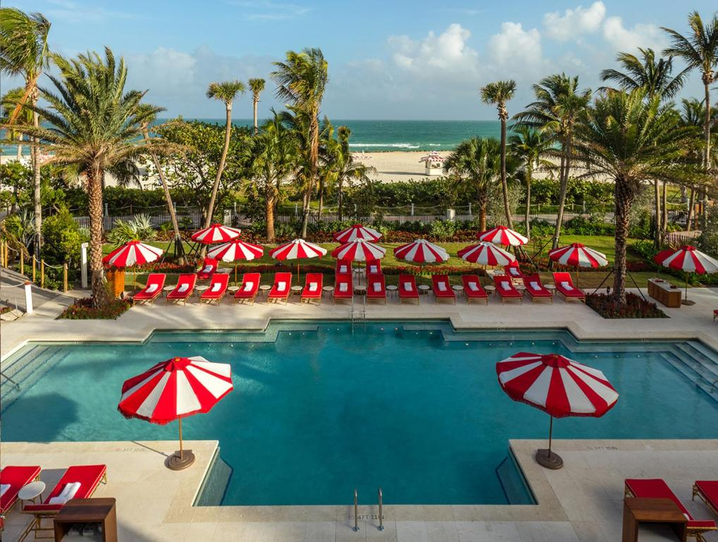 The swimming pool at or near Faena Hotel Miami Beach