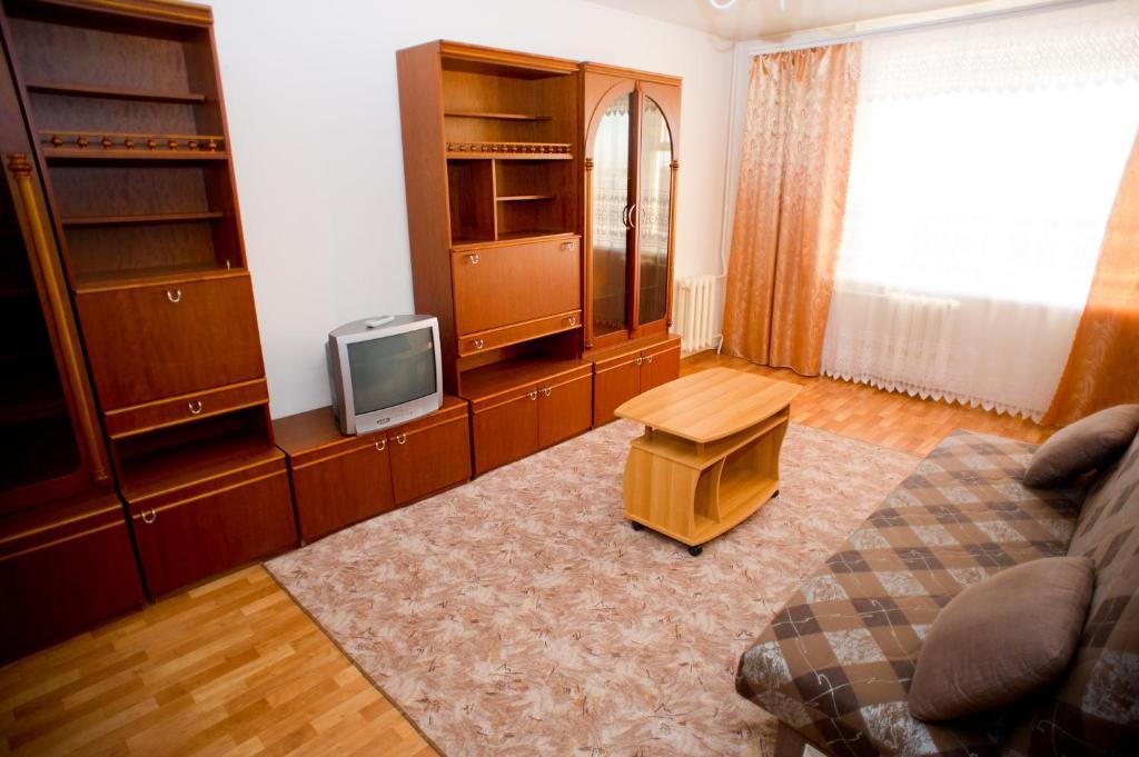 Гостиная зона в Hostel Trukhinova 3