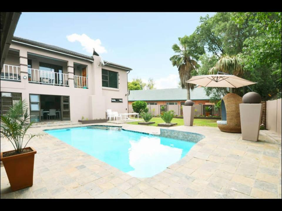 The swimming pool at or near 2OpTerblanche Guesthouse