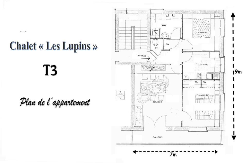 Chalet les lupins-T3