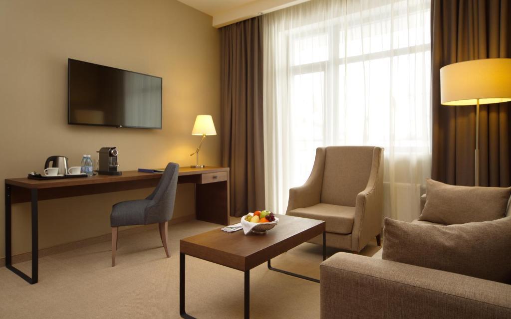 Гостиная зона в Medical Spa Hotel Rosa Springs