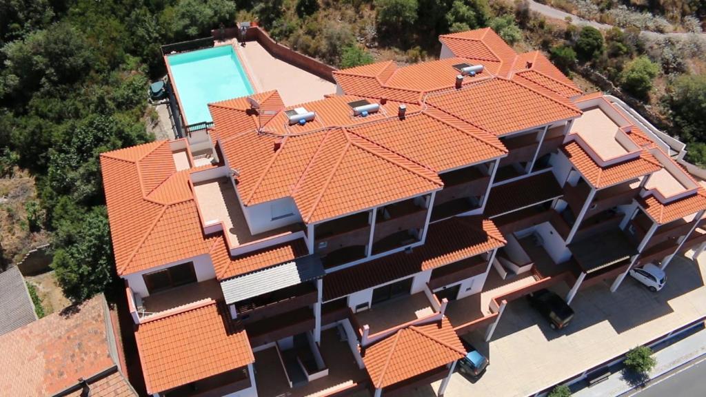 A bird's-eye view of Casa Vacanze Le Ginestre
