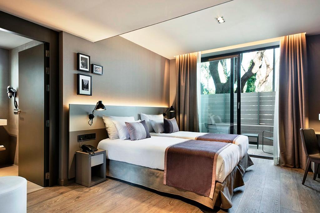 Katil atau katil-katil dalam bilik di Upper Diagonal