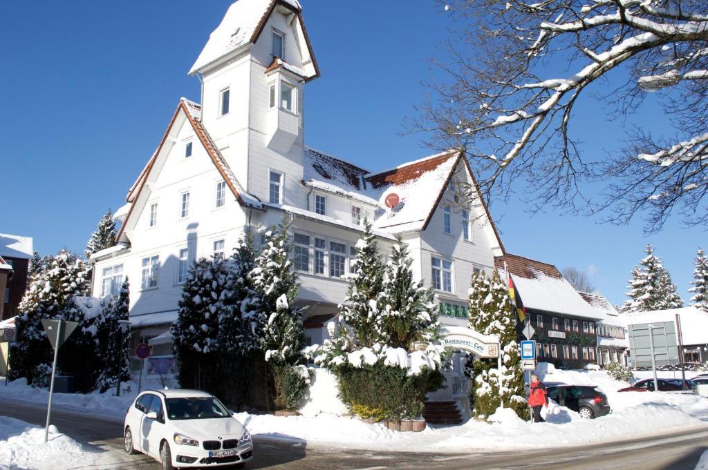 Hotel Askania im Winter