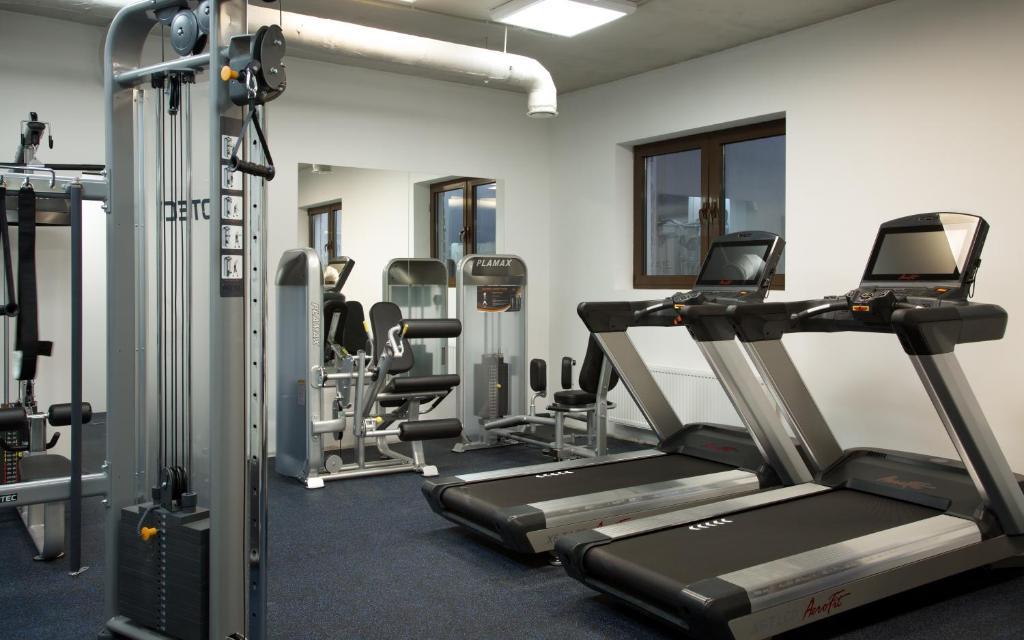 Фитнес-центр и/или тренажеры в Medical Spa Hotel Rosa Springs