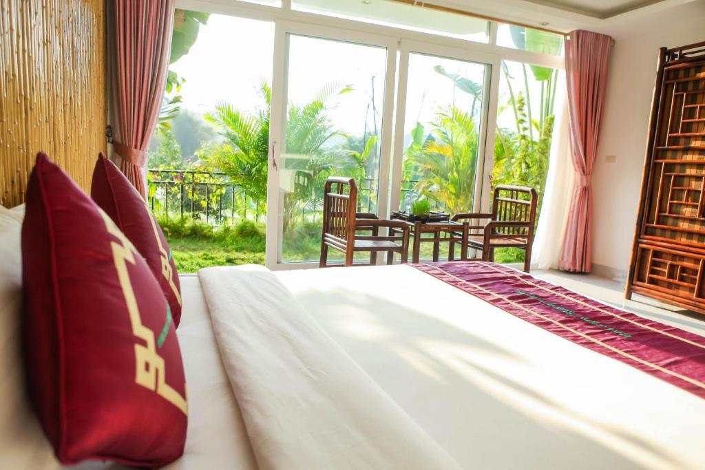 Phòng Deluxe Giường đôi Nhìn ra Núi và Thung lũng