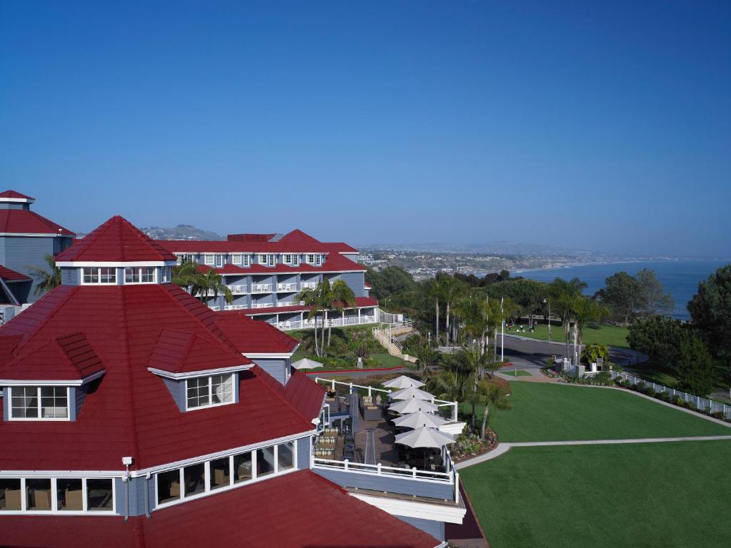 A bird's-eye view of Laguna Cliffs Marriott Resort & Spa