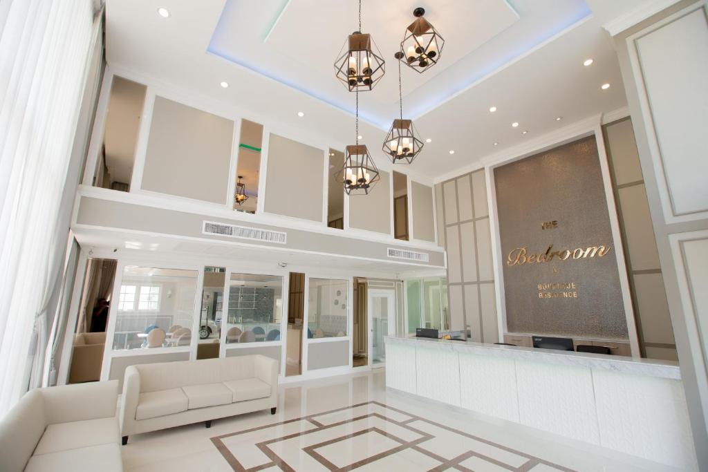 Lobby o reception area sa The Bedroom Ladprao 101