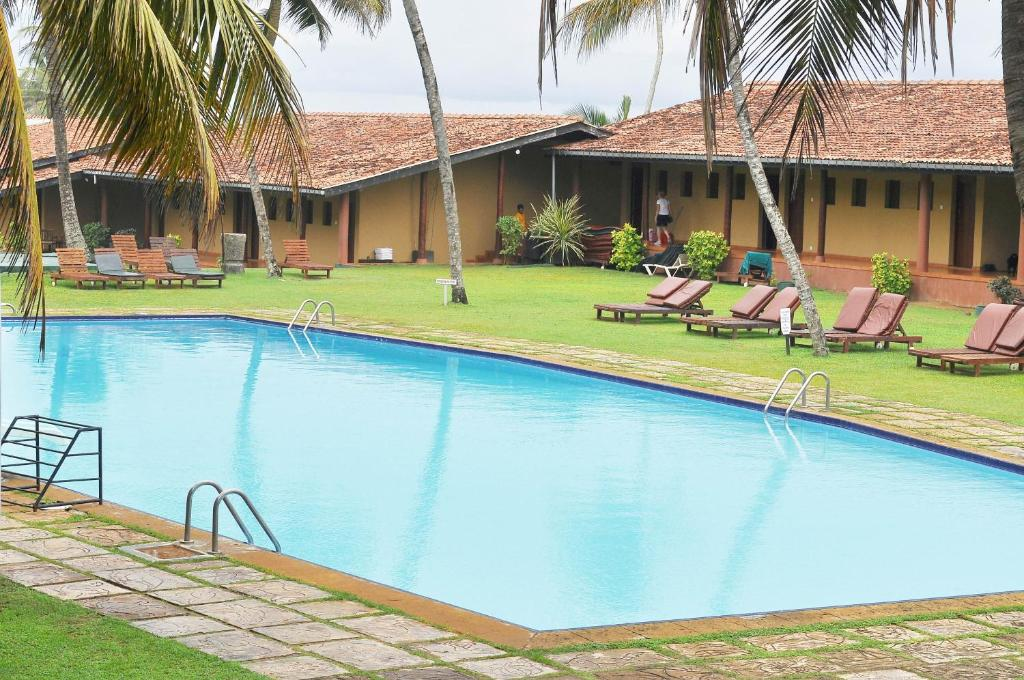 The swimming pool at or near Club Koggala Village