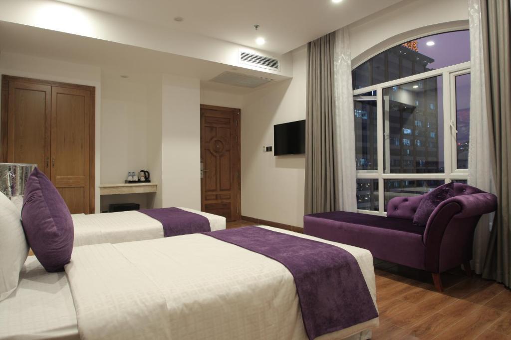 Phòng Junior Deluxe có 2 Giường Đơn