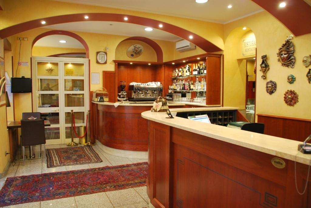 The lobby or reception area at Hotel Antico Distretto