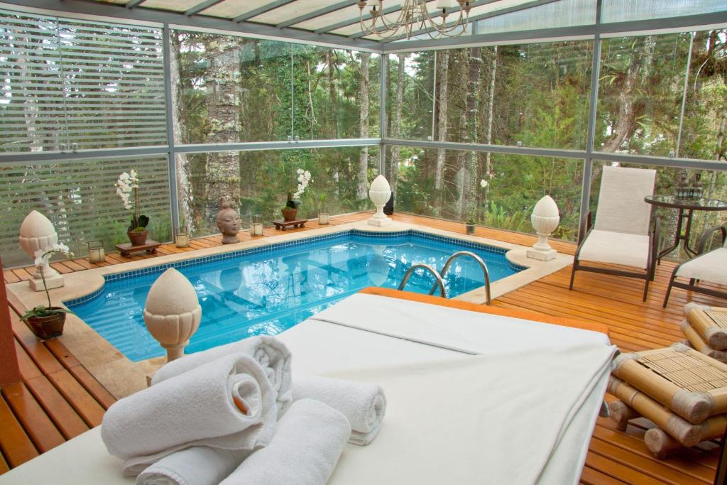 The swimming pool at or near Villa Casato Residenza Boutique