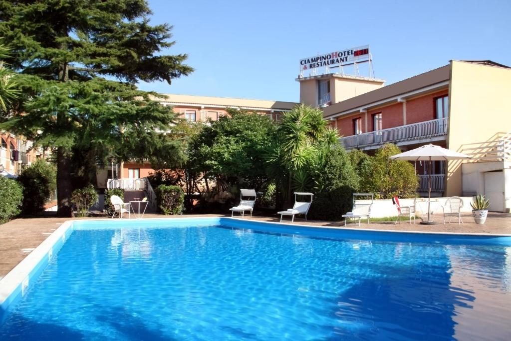 The swimming pool at or near CiampinoHotel