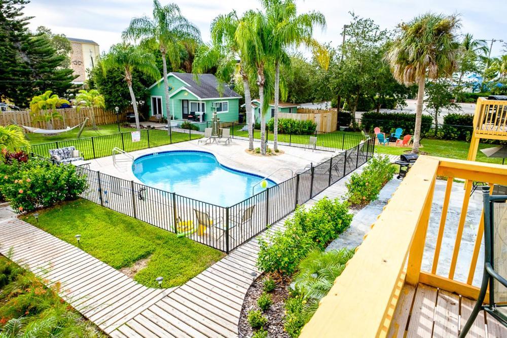 Vista sulla piscina di Myerside o su una piscina nei dintorni