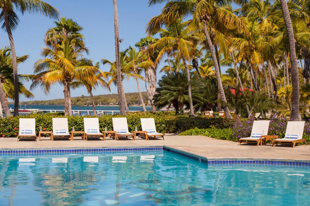 The swimming pool at or near Copamarina Beach Resort & Spa
