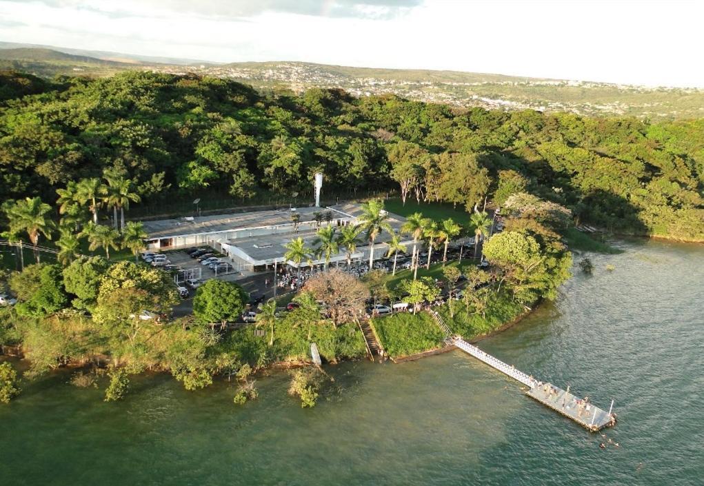 A bird's-eye view of Grande Lago Bar Gastronomia Hotel