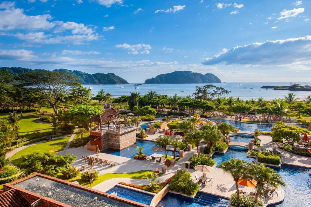 A view of the pool at Los Sueños Marriott Ocean & Golf Resort or nearby