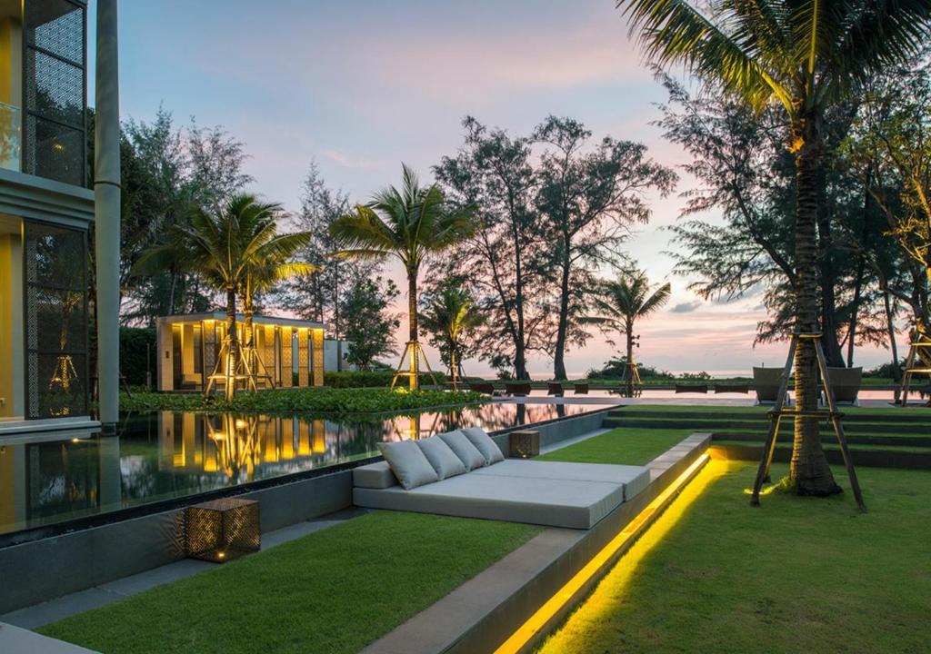 The swimming pool at or near Baan Mai Khao Beach Residence