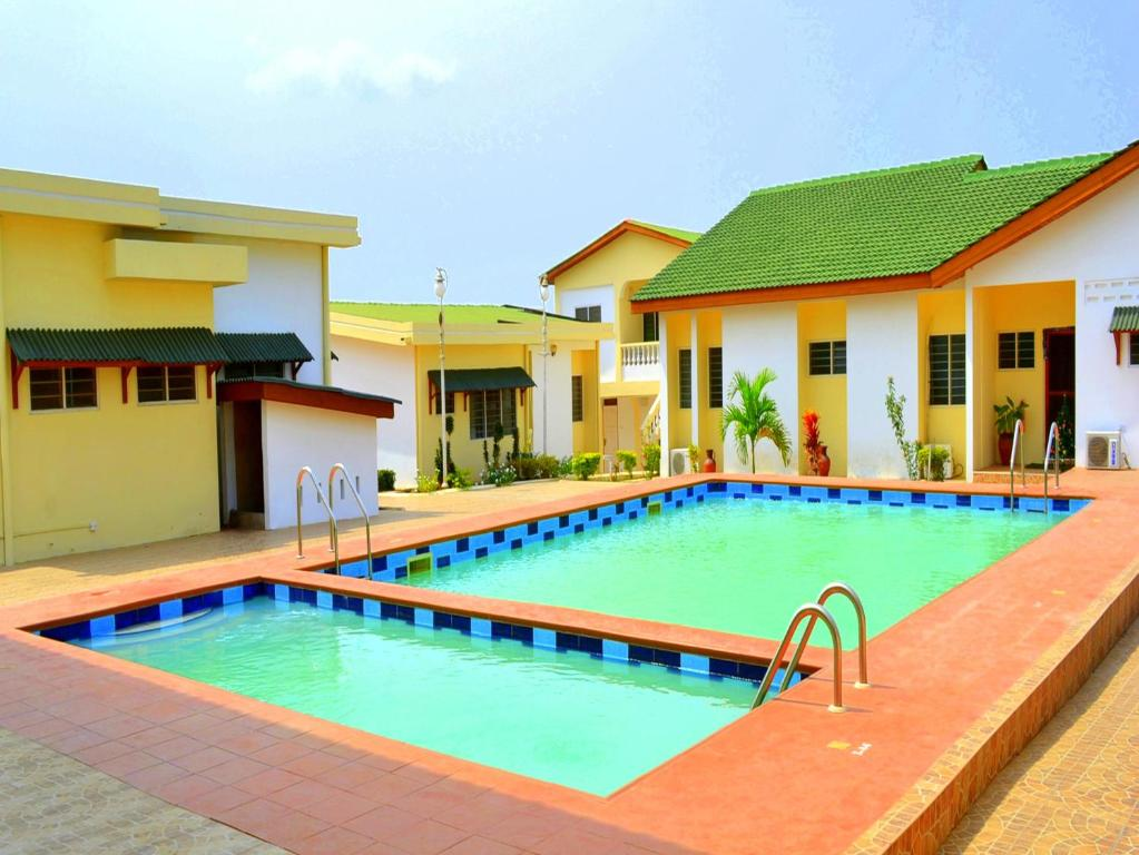 The swimming pool at or near Hotel Loreto