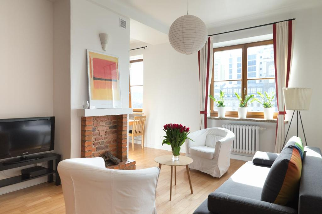 A seating area at Apartament One by Your Freedom