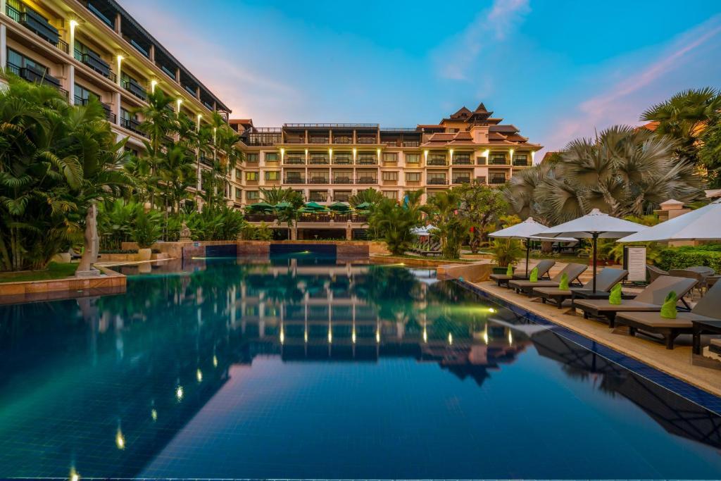 The swimming pool at or near Angkor Miracle Resort & Spa