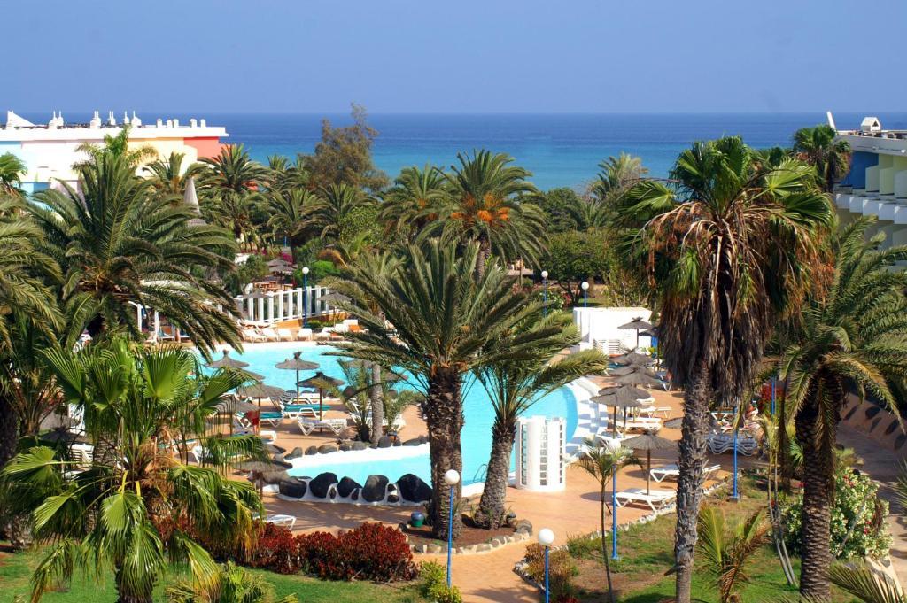 Uitzicht op het zwembad bij SBH Fuerteventura Playa of in de buurt