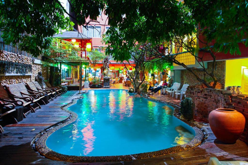 The swimming pool at or near Villa Cha-Cha Banglumphu