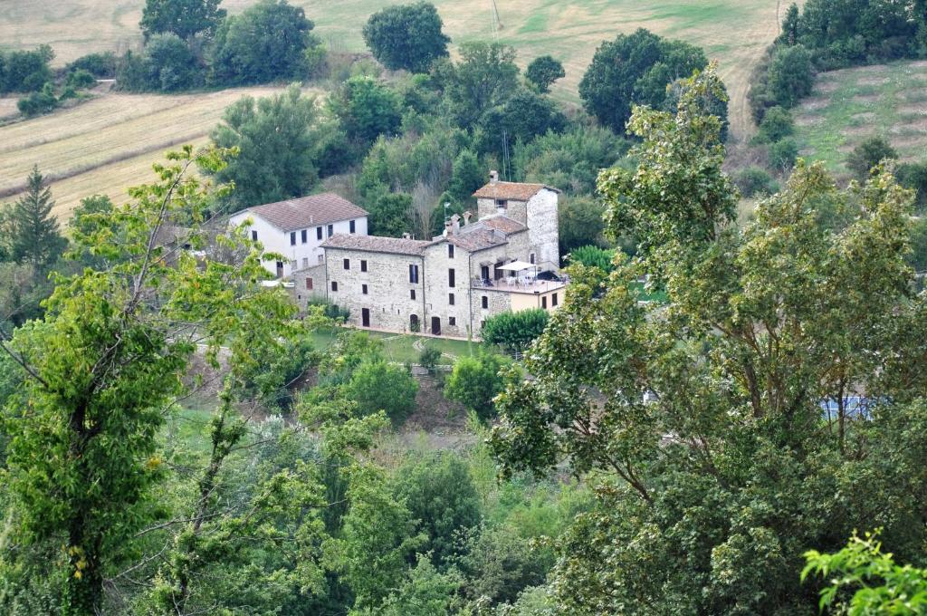 Vista aerea di Agriturismo I Gelsi di Santa Cristina