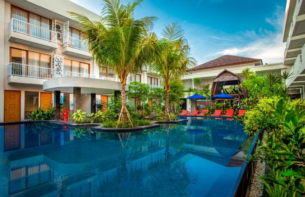 Бассейн в Abian Harmony Hotel или поблизости