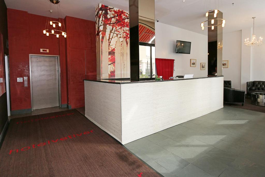 The lobby or reception area at Hotel Vetiver / Manhattan Skyline