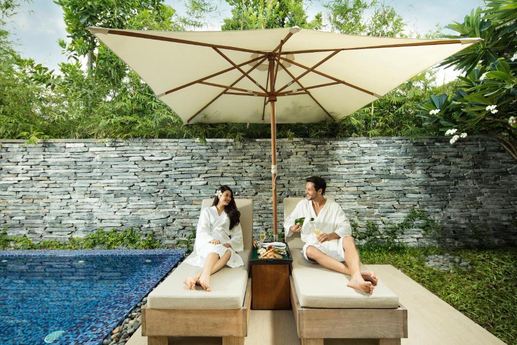 Biệt Thự 1 Phòng Ngủ Có Hồ Bơi Riêng - Trà Chiều Miễn Phí