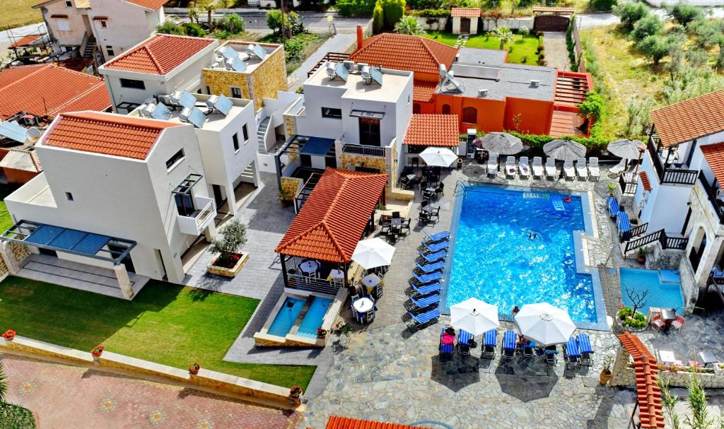 A bird's-eye view of Ledra Maleme Hotel